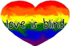 Love is Blind Heart by twixtnightandmorn