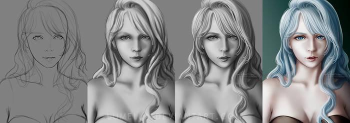 Lumella Angelheart: Process