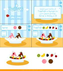 Yogurt: Drag and Drop Game