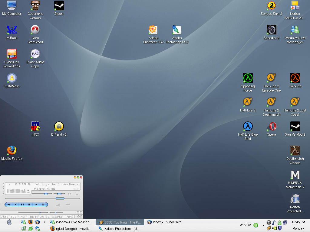 rgNet :: desktop