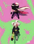 Squid sisters vs