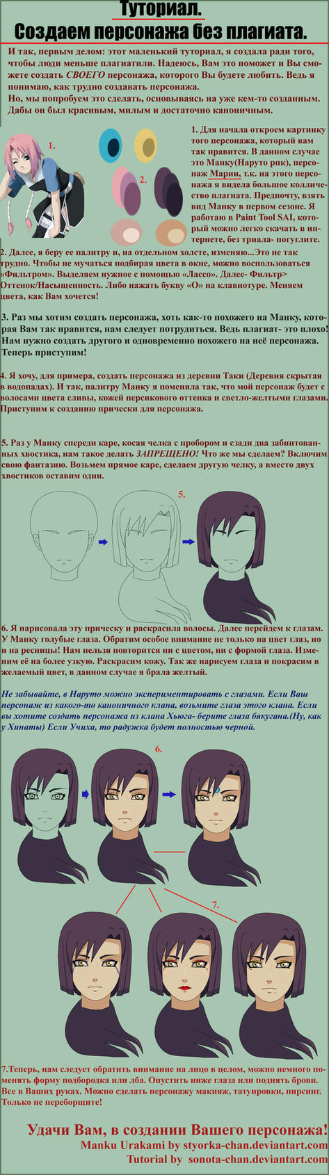 +Tutorial on creation of the character+ by Sonota-chan