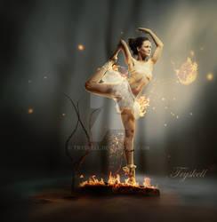 Dancer fire