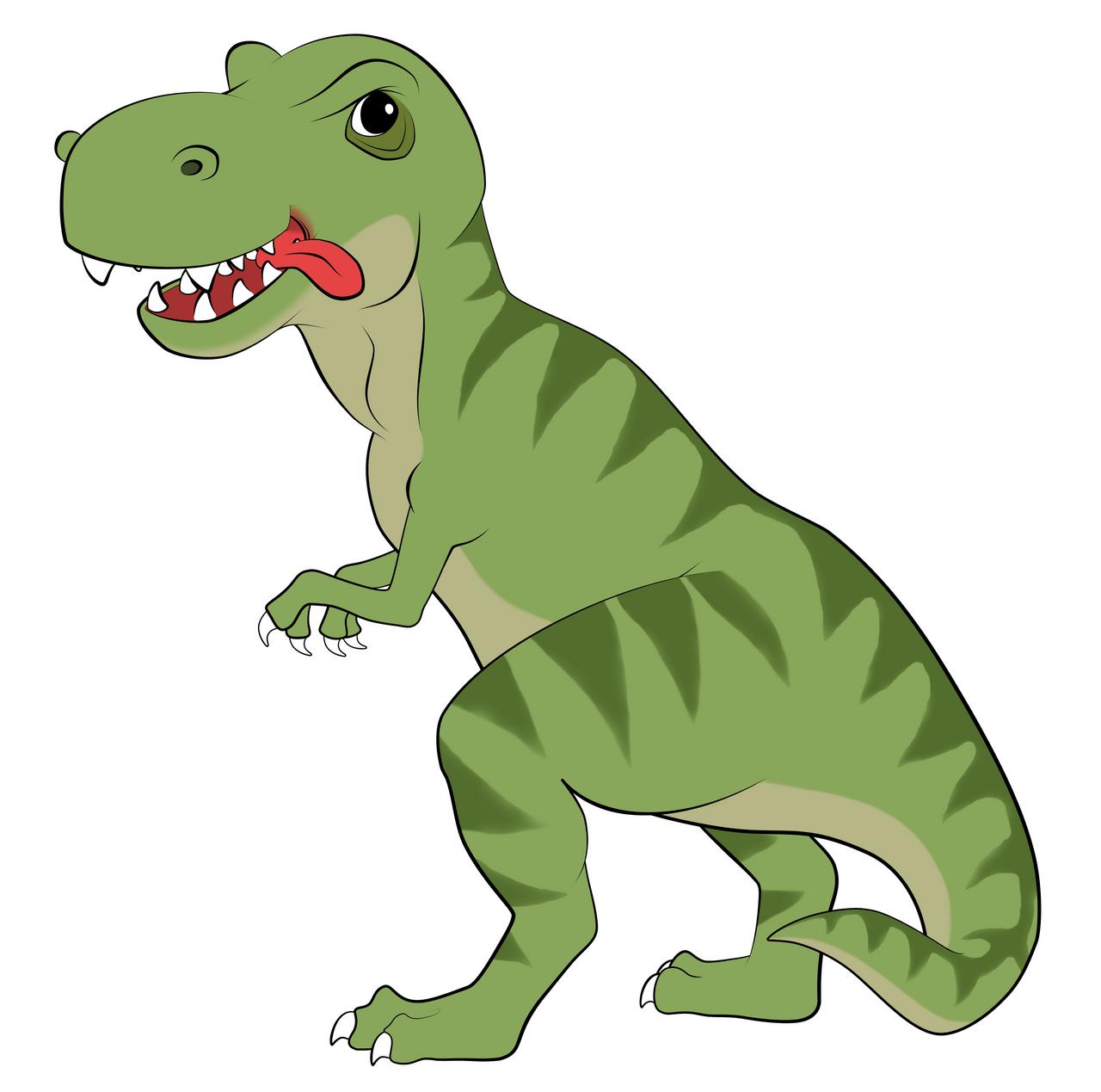 T-Rex Cartoon by EarthEvolution on DeviantArt