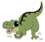 Cartoony T-Rex 2