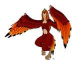 Harpyie - red wings