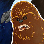 Chewbacca on Canvas