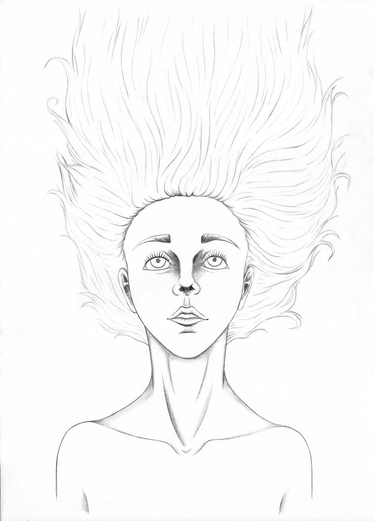 Line Drawing Upside Down : Upside down lines by earthevolution on deviantart