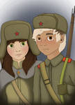Kiska/Liliya - Battlefieldfriendship