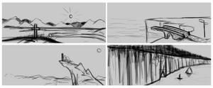 Landscapes - Sketches