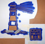 Lighthouse - Stencil