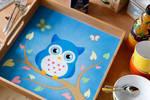 Little blue Owl tablet