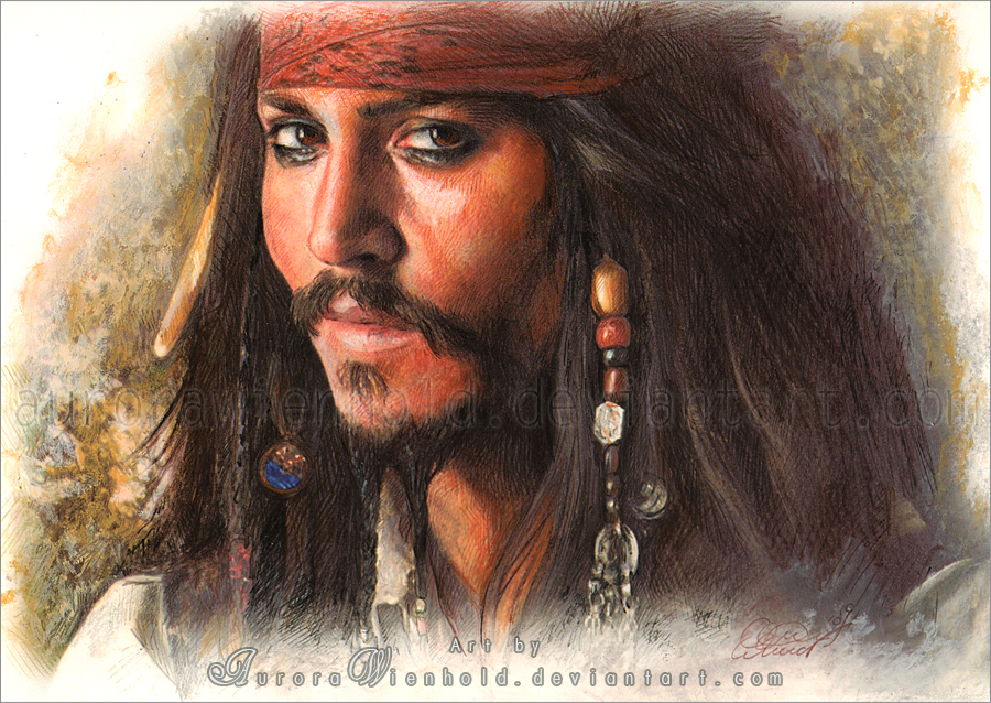 Captain Jack Sparrow by RoryonaRainbow