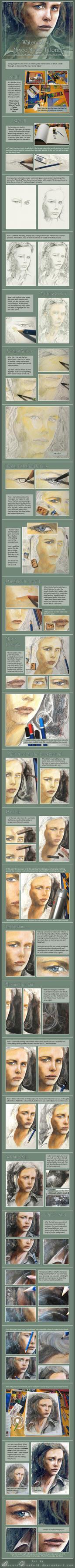 Watercolour Tutorial by AuroraWienhold