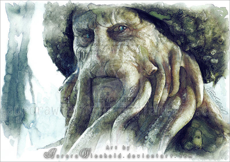 Davy Jones by AuroraWienhold