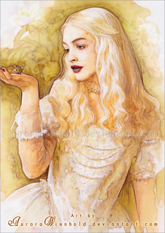 White Queen by RoryonaRainbow