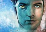 Sam Worthington as Jake Sully by RoryonaRainbow