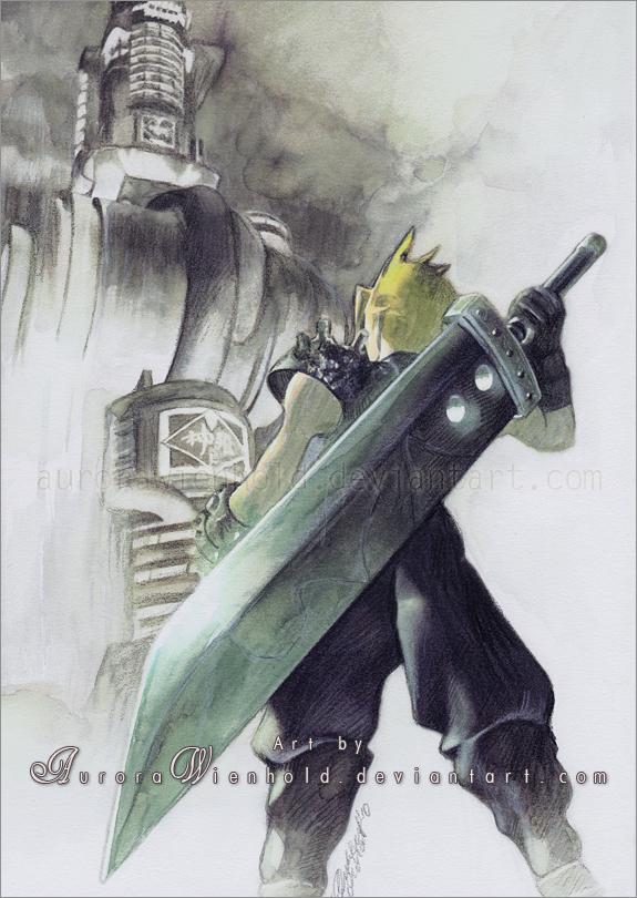 Final Fantasy VII by AuroraWienhold