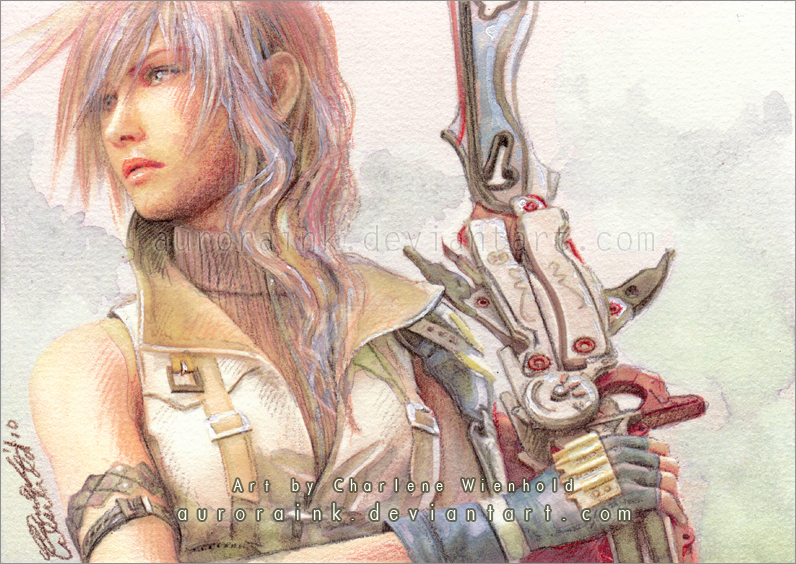 Lightning - Final Fantasy XIII by AuroraWienhold