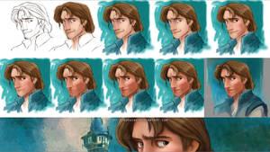 Flynn Steps by RoryonaRainbow