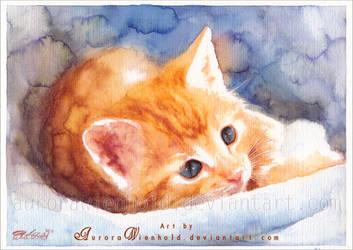 Cuddly Kitty by RoryonaRainbow