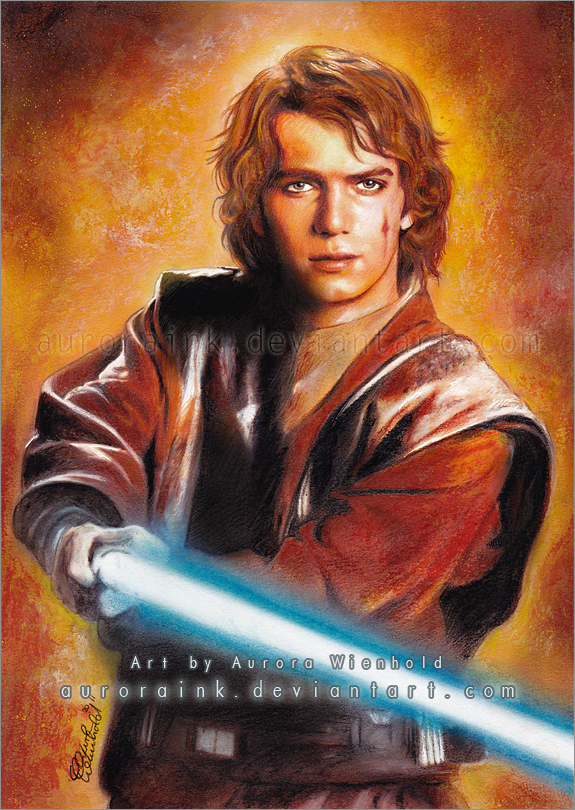 Anakin Skywalker by AuroraWienhold