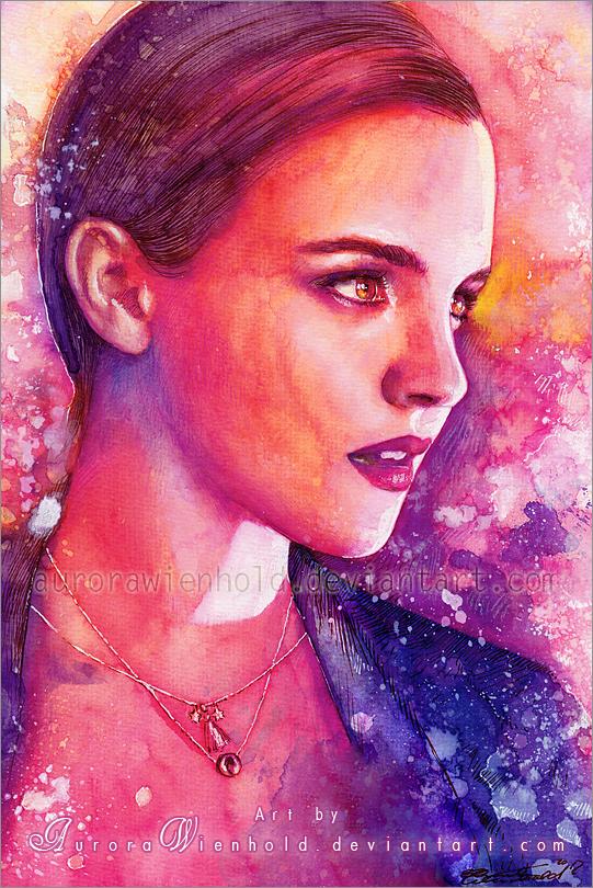 Emma Watson by AuroraWienhold