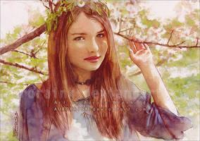 Spring blooms by RoryonaRainbow