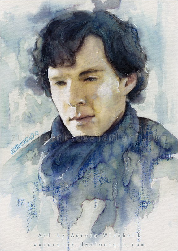 Sherlock: I think I'm going to die - Crying colors by RoryonaRainbow
