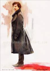 Sherlock: Alone protects me. by RoryonaRainbow
