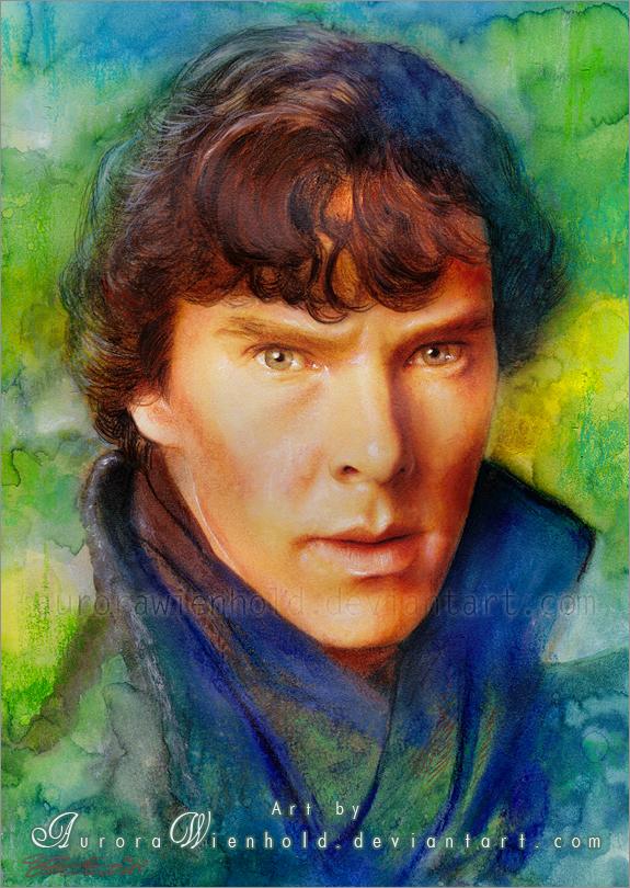 Sherlock Holmes by AuroraWienhold