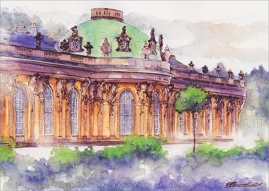 Sanssouci by AuroraWienhold