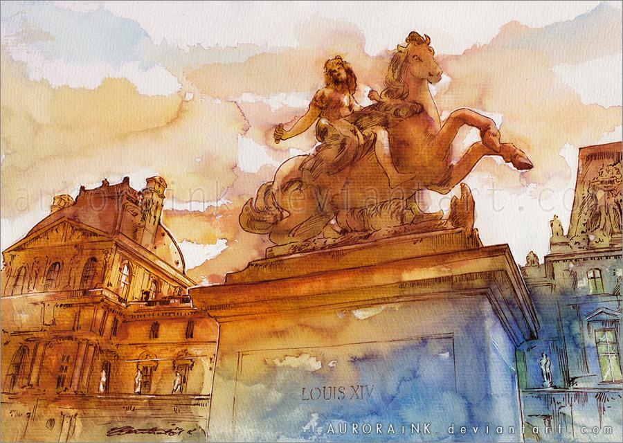 Louis XIV by AuroraWienhold