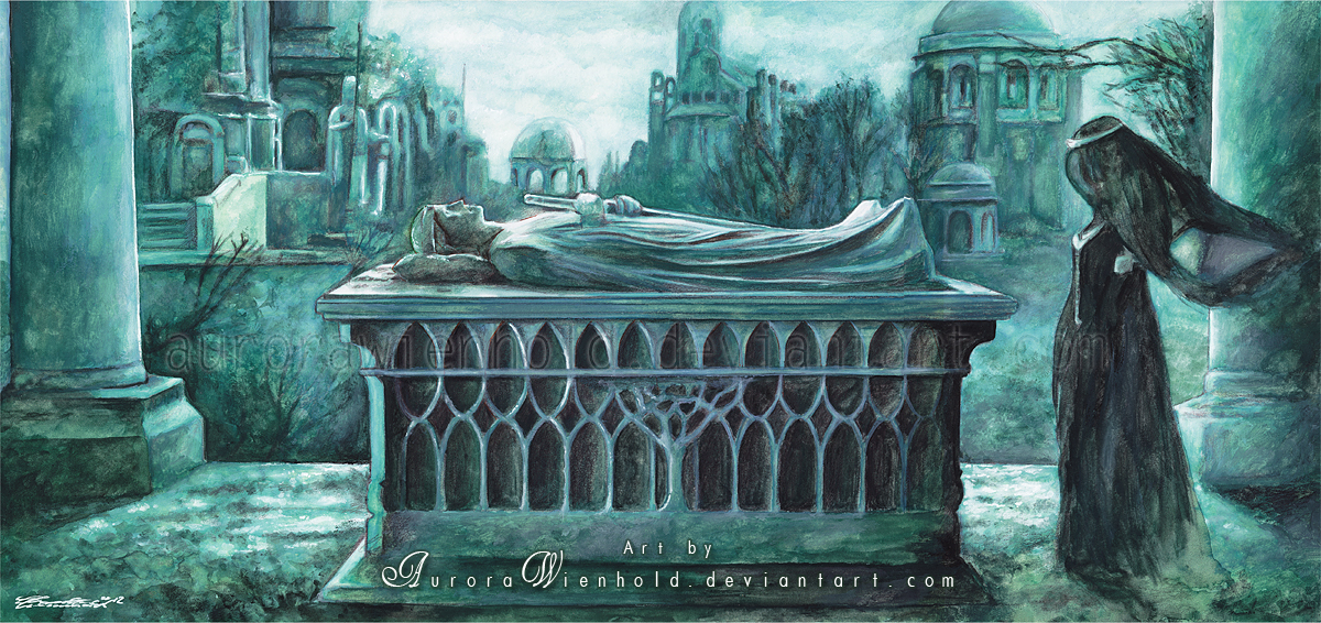 Aragorn's Tomb by AuroraWienhold