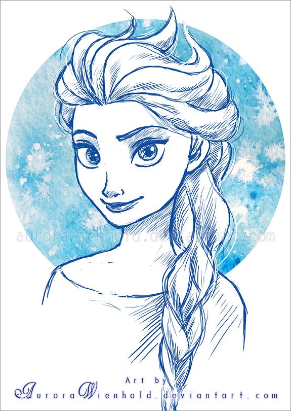 Elsa by AuroraWienhold