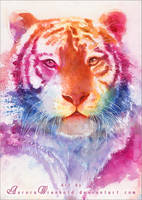 Rainbow stripes by RoryonaRainbow
