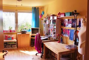 Workspace - Bigger View by RoryonaRainbow