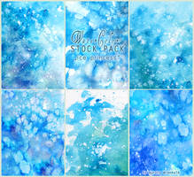Ice princess - WATERCOLOR STOCK PACK by RoryonaRainbow