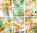 Spring blooms  - WATERCOLOR STOCK PACK