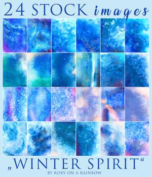 BIG WATERCOLOR STOCK PACK - Winter Spirit