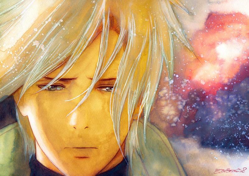 Get away from me - Watercolor Fanart