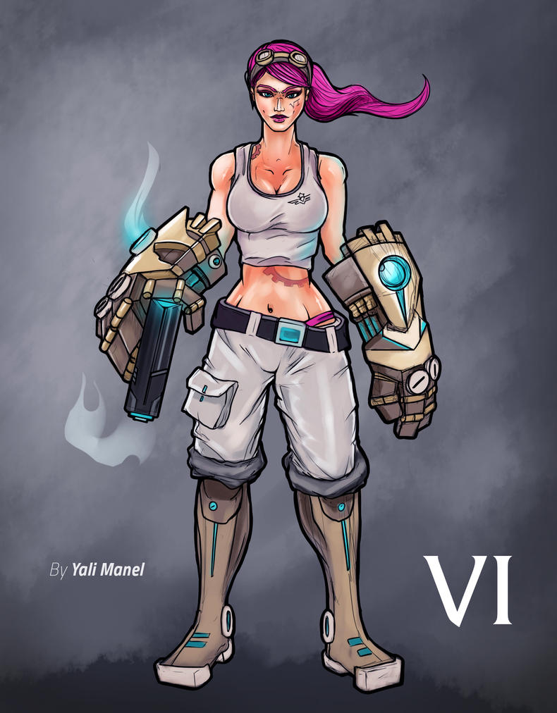 VI League Of Legends by yalimanel on DeviantArt