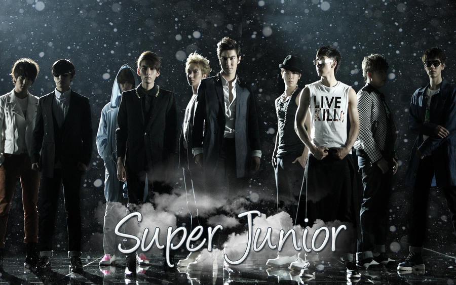 Super Junior Wallpaper 3 by Sujufanatic on DeviantArt