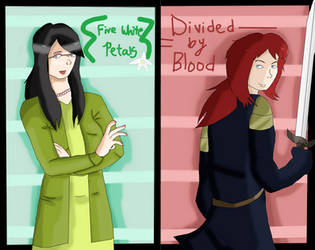 FWP-DBB: Main characters by RedStars7
