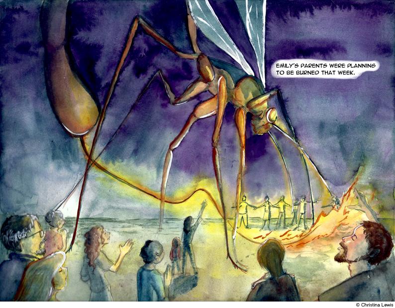 Cockroach Pentecost 62 by Entomotheist