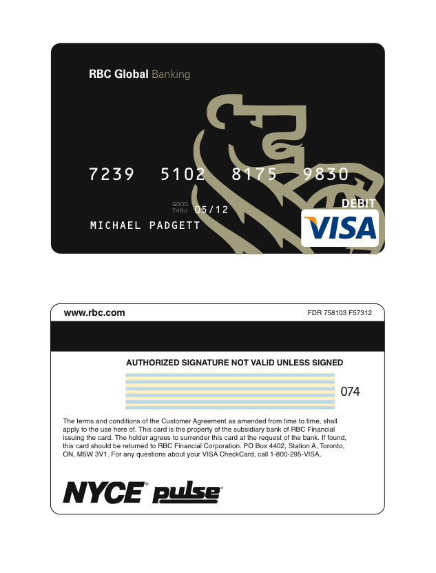 Rbc visa payment address qld