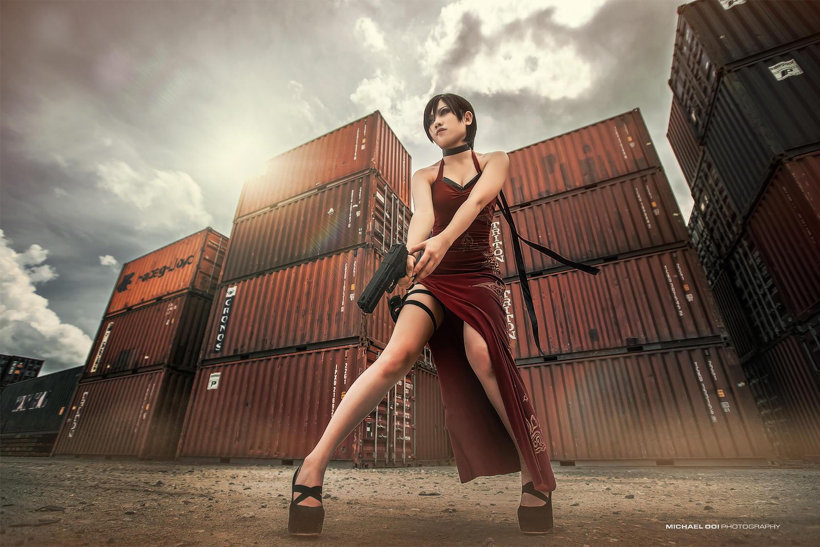 Resident Evil - Ada Wong by wkwebsite
