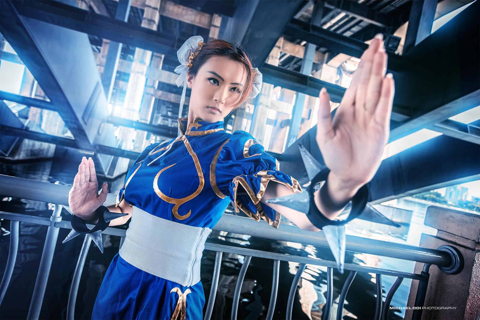 Street Fighter - Chun Li by wkwebsite