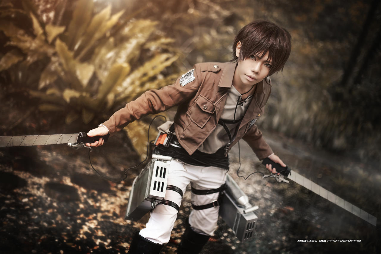 Attack on Titan - Eren Jaeger by wkwebsite on DeviantArt