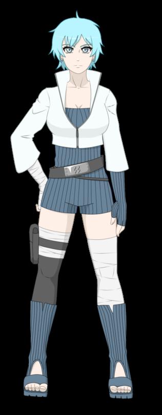 Naruto OC - Yuki Mikayo